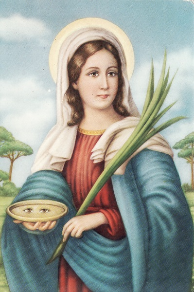 saint lucy - santalucia