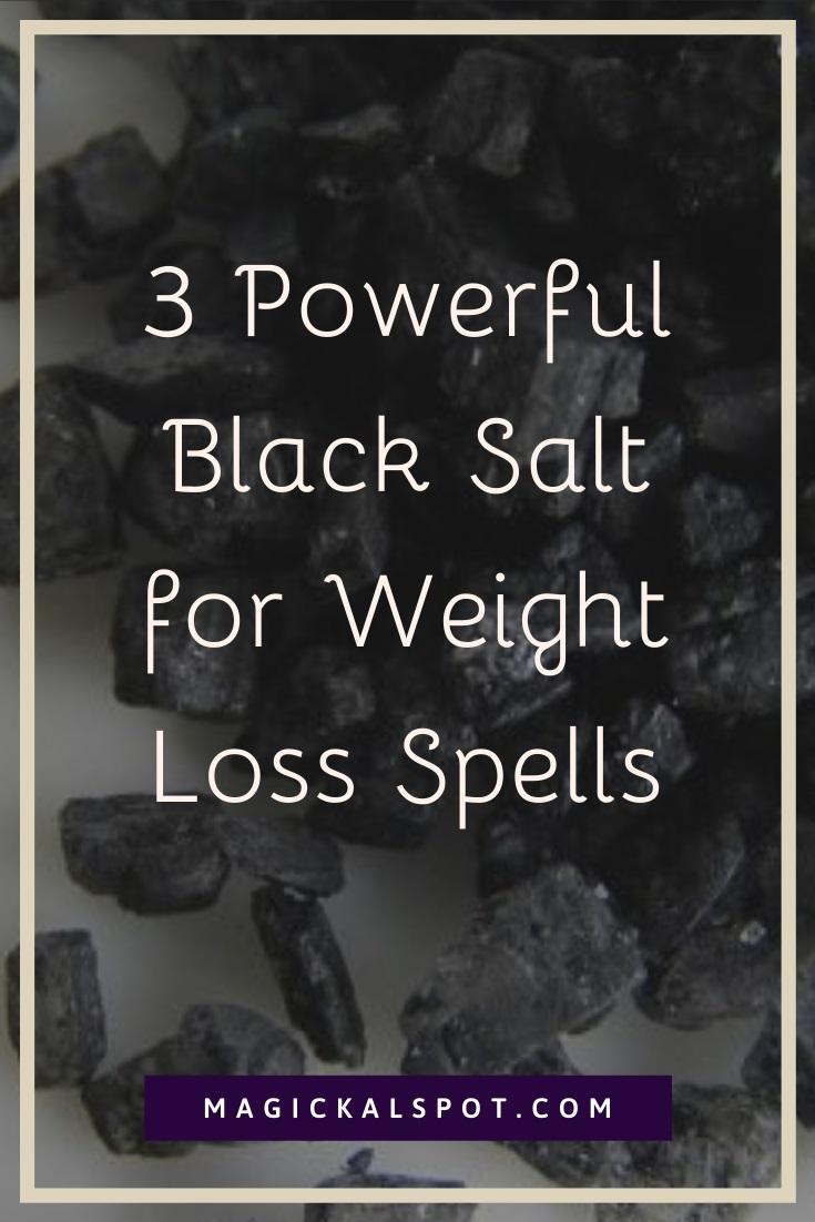3 Powerful Black Salt for Weight Loss Spells by MagickalSpot