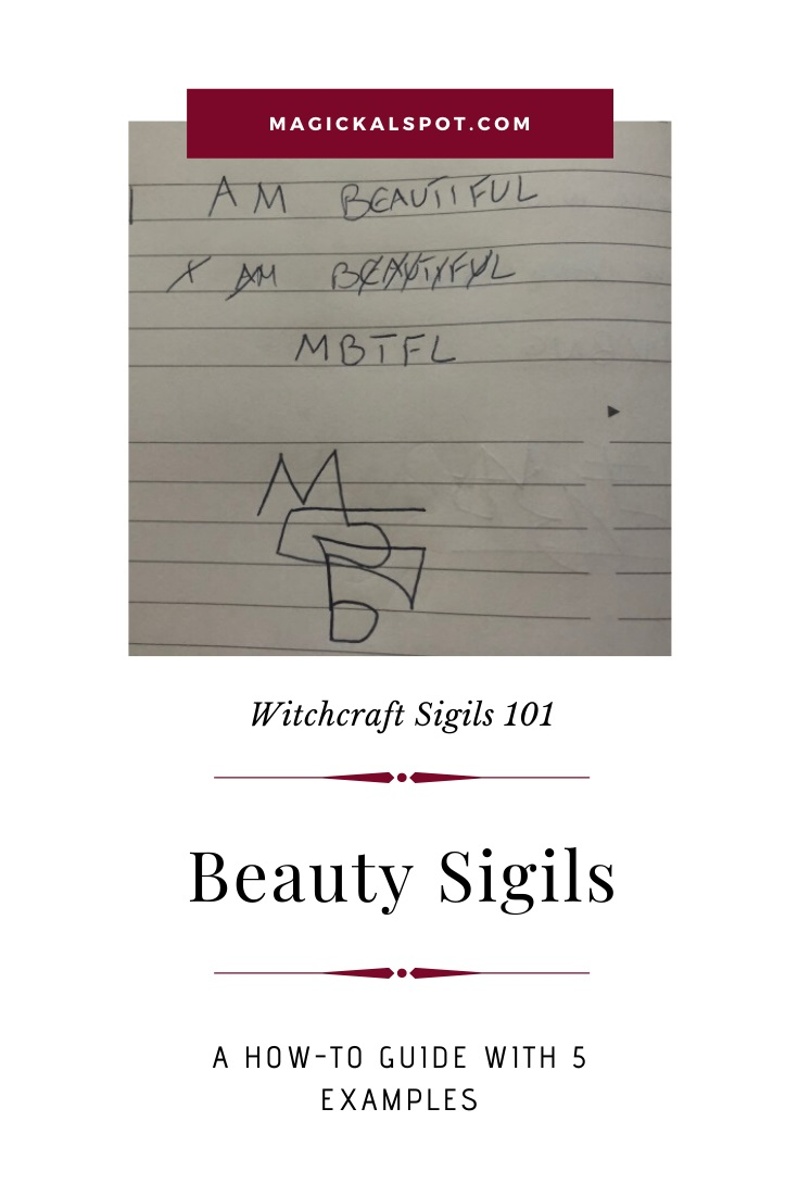 5 Examples of a Beauty Sigil by MagickalSpot