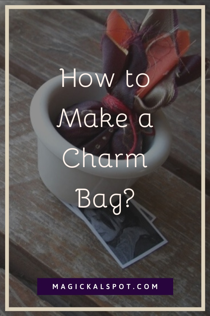 How to Make a Charm Bag by MagickalSpot