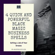 4 Quick and Powerful Black Magic Business Spells featured