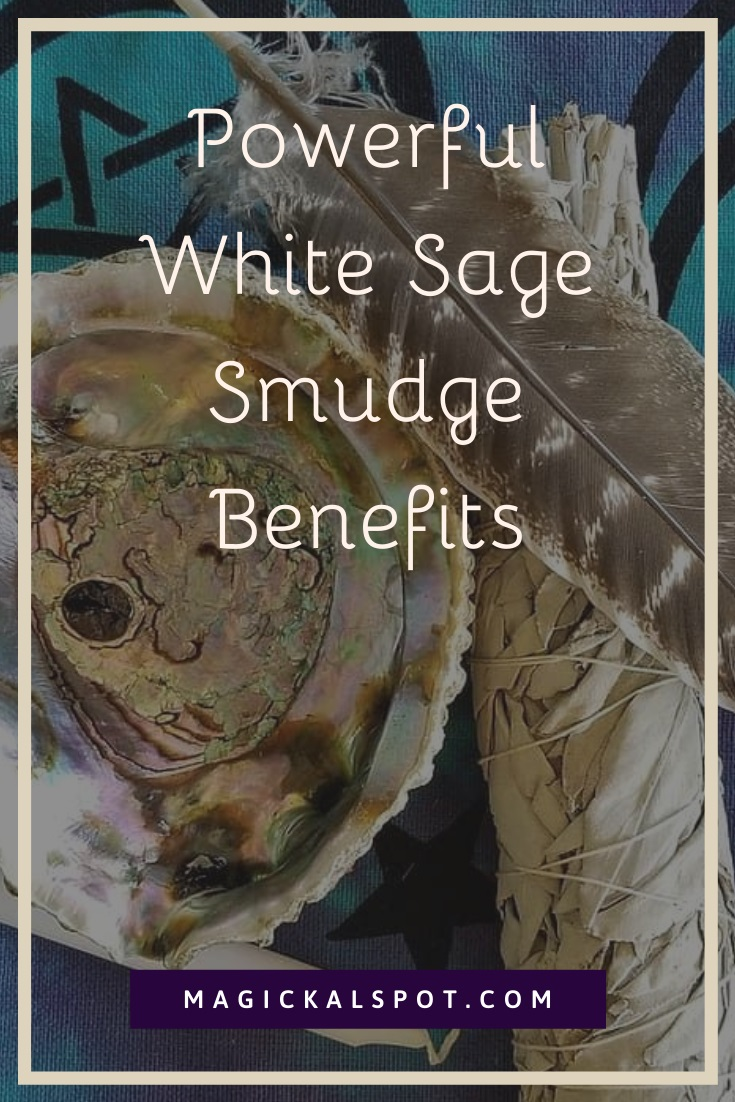 Powerful White Sage Smudge Benefits by MagickalSpot