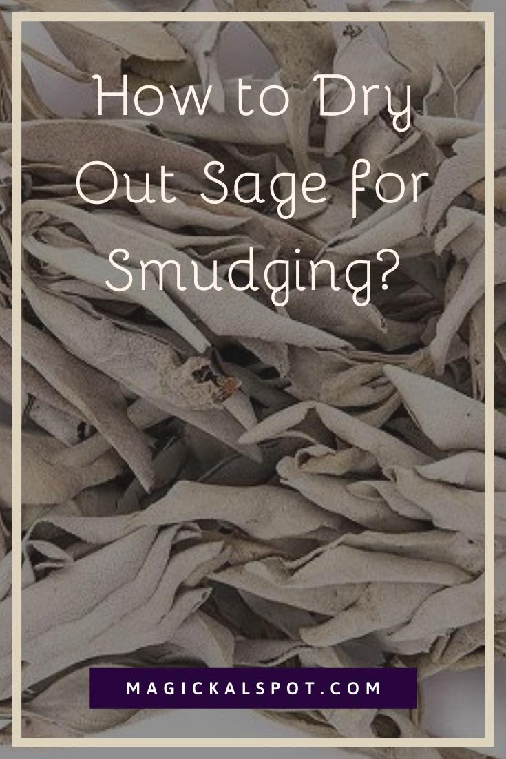 How to Dry Out Sage for Smudging by MagickalSpot