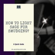 How to Light Sage for Smudging featured
