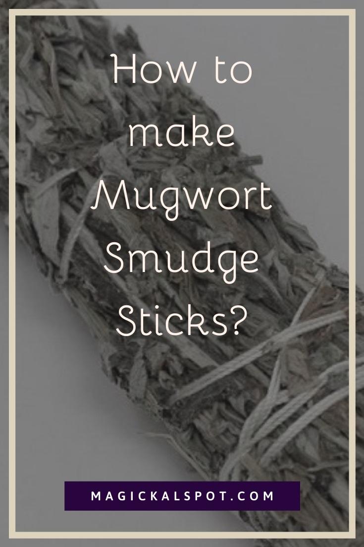 How to make Mugwort Smudge Sticks by MagickalSpot