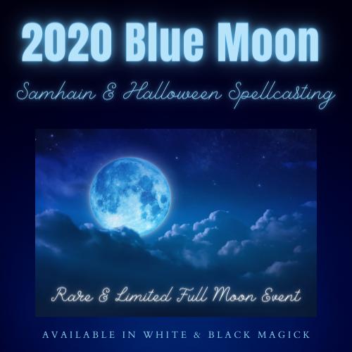 Magick On Halloween 2020 2020 Blue Moon Samhain & Halloween Spellcasting   Magickal Spot
