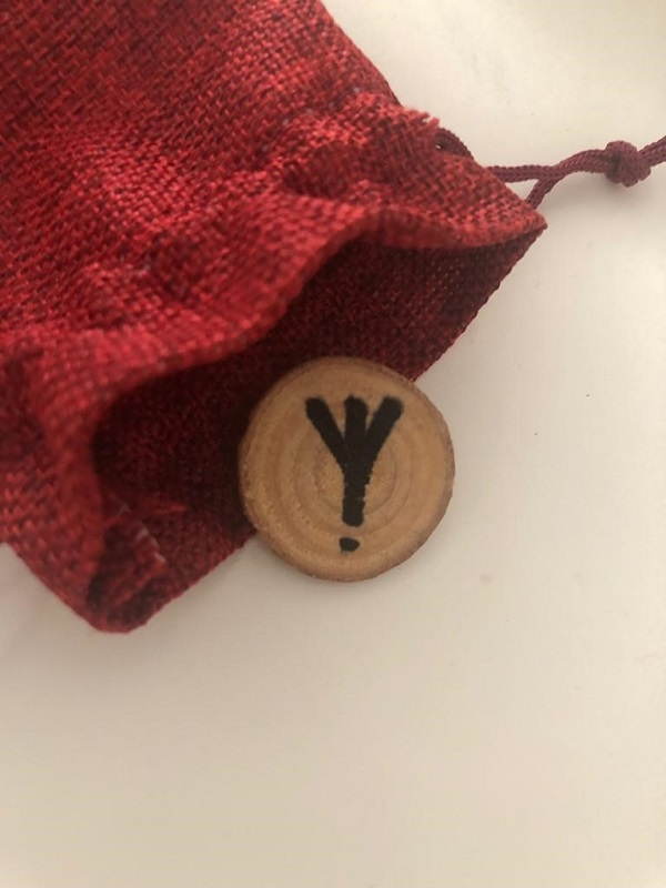 Algiz rune from my collection