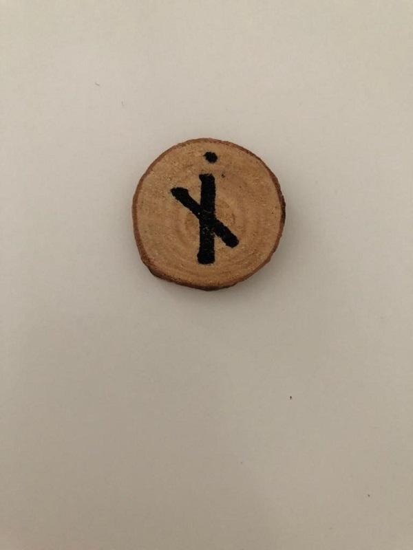 Nauthiz rune reversed by MagickalSpot
