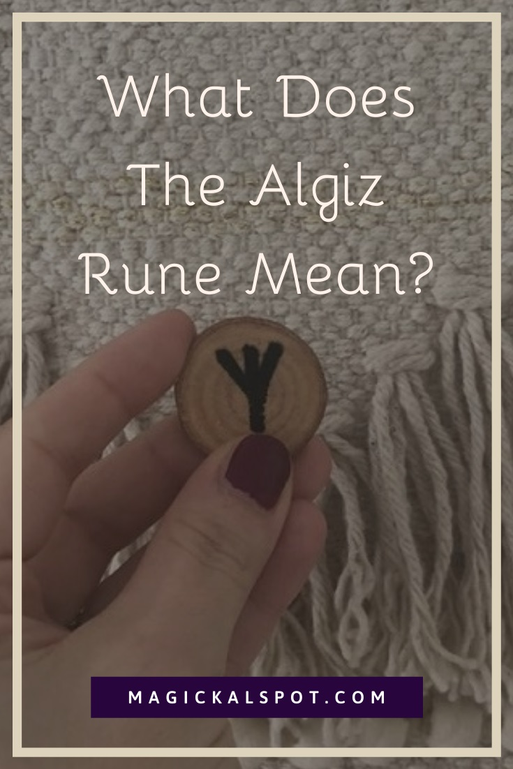 What Does The Algiz Rune Mean by MagickalSpot