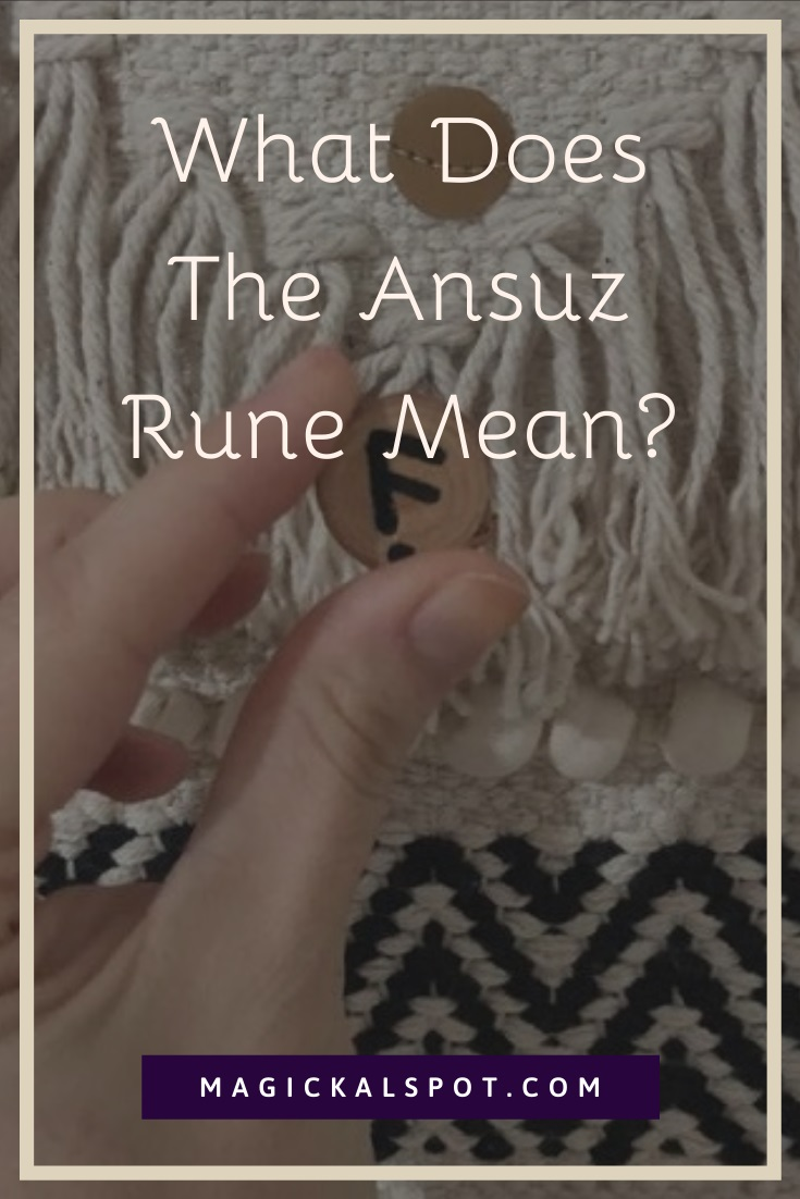 What Does The Ansuz Rune Mean by MagickalSpot