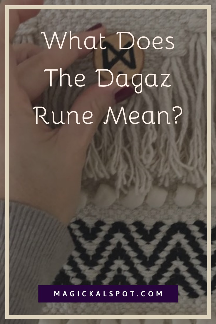What Does The Dagaz Rune Mean by MagickalSpot