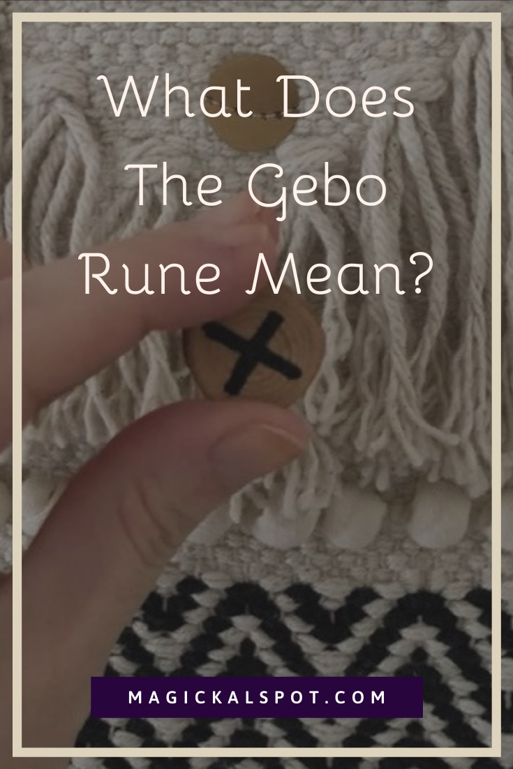 What Does The Gebo Rune Mean by MagickalSpot