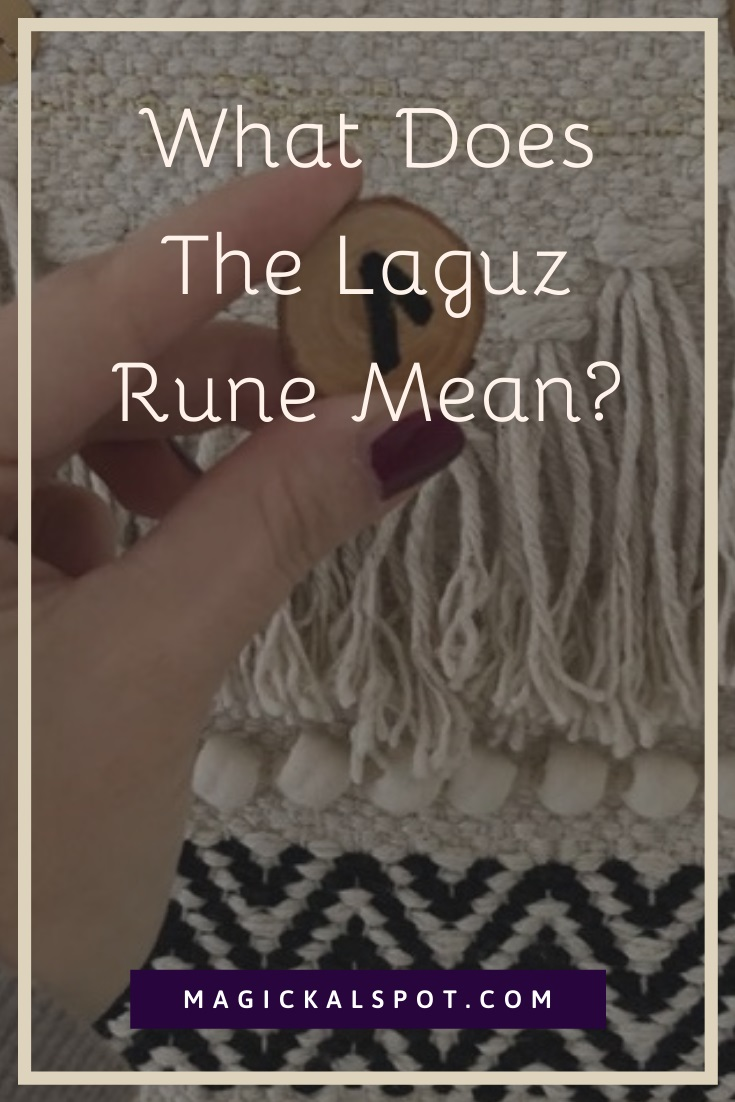 What Does The Laguz Rune Mean by MagickalSpot