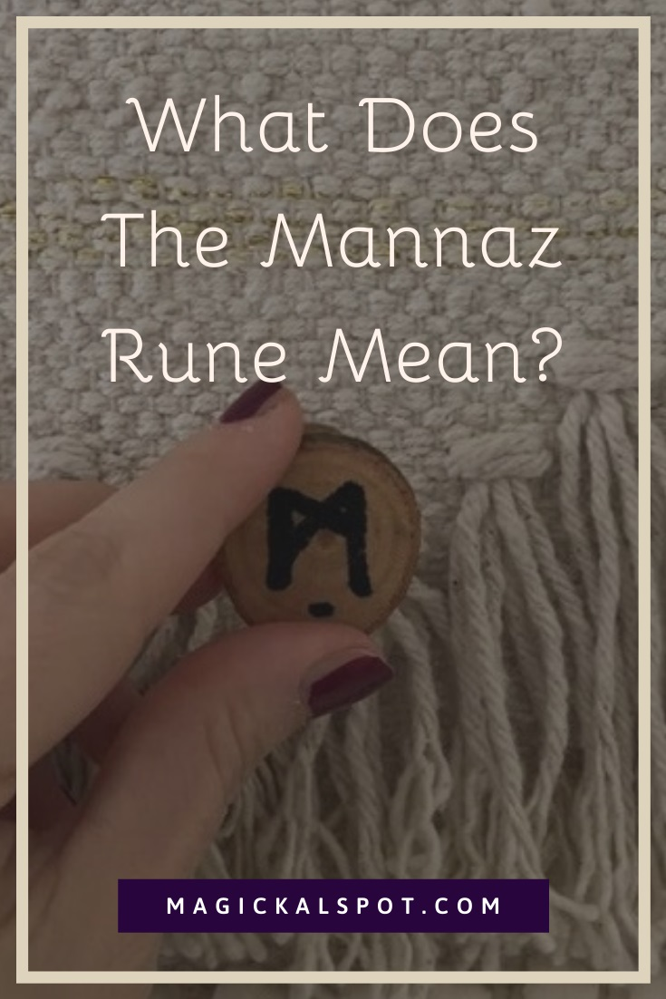What Does The Mannaz Rune Mean by MagickalSpot