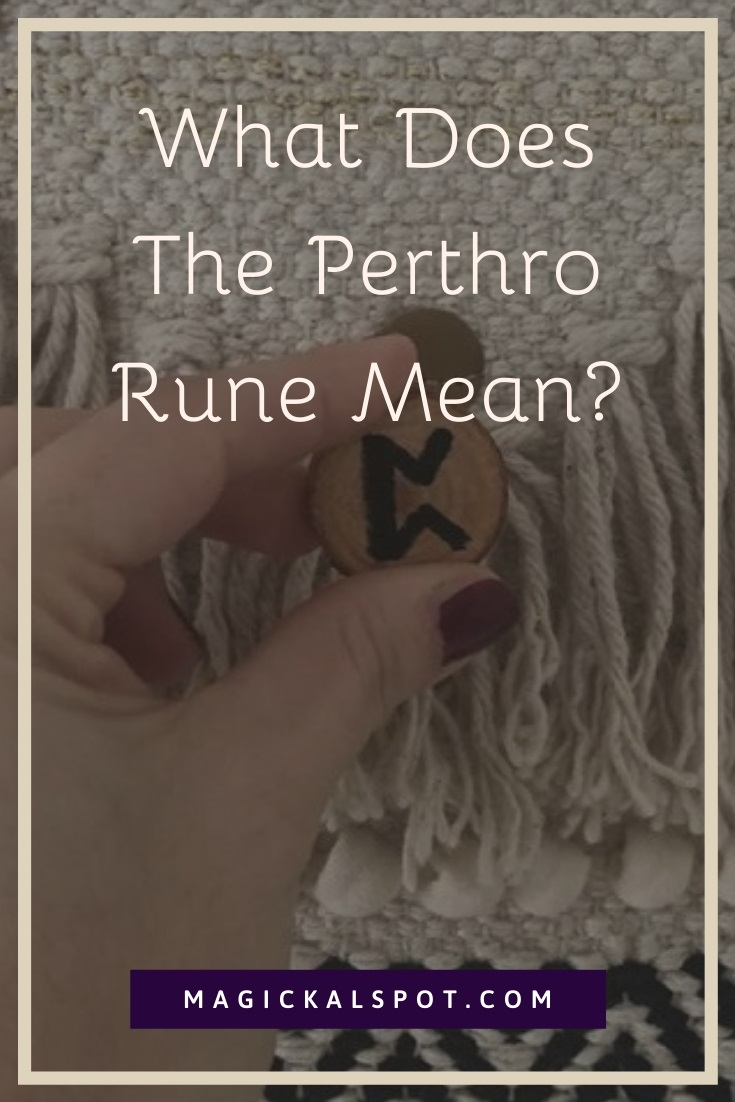 What Does The Perthro Rune Mean by MagickalSpot