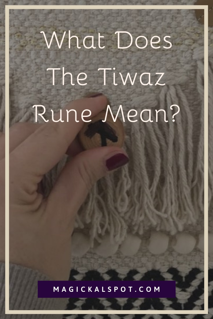What Does The Tiwaz Rune Mean by MagickalSpot