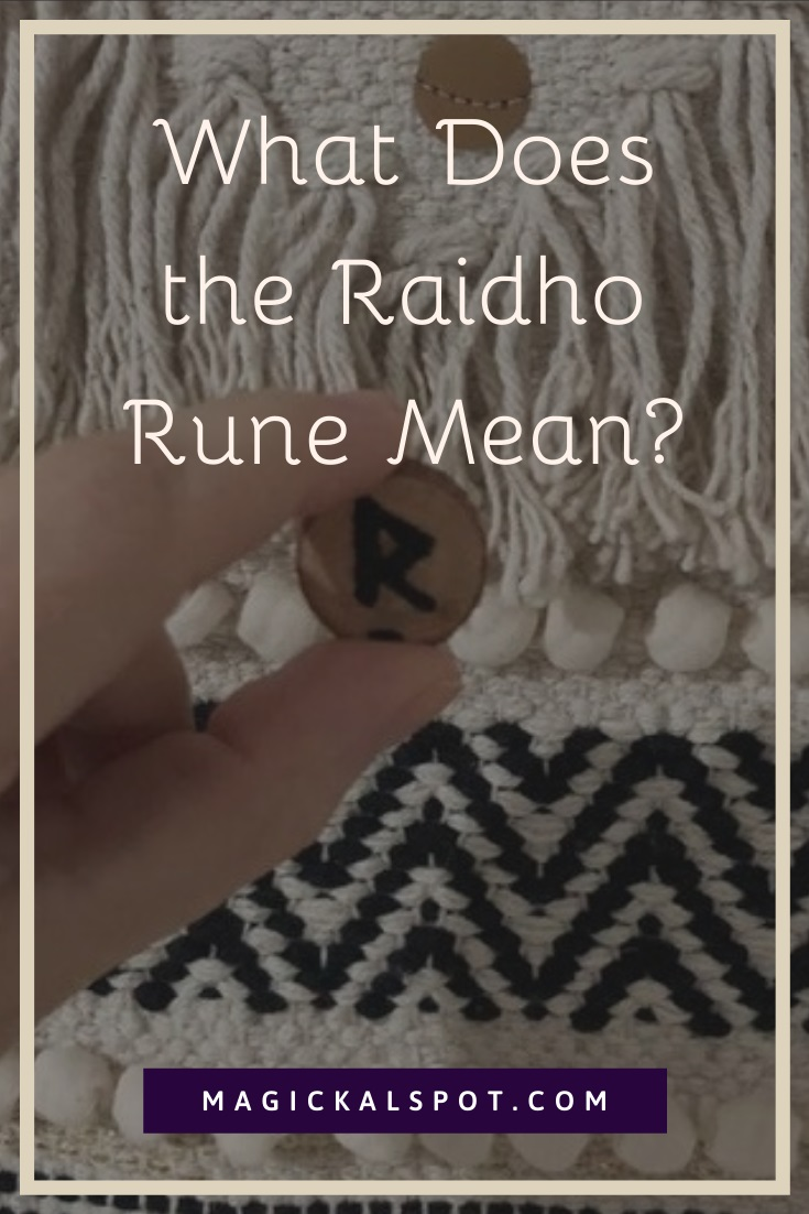 What Does the Raidho Rune Mean by MagickalSpot
