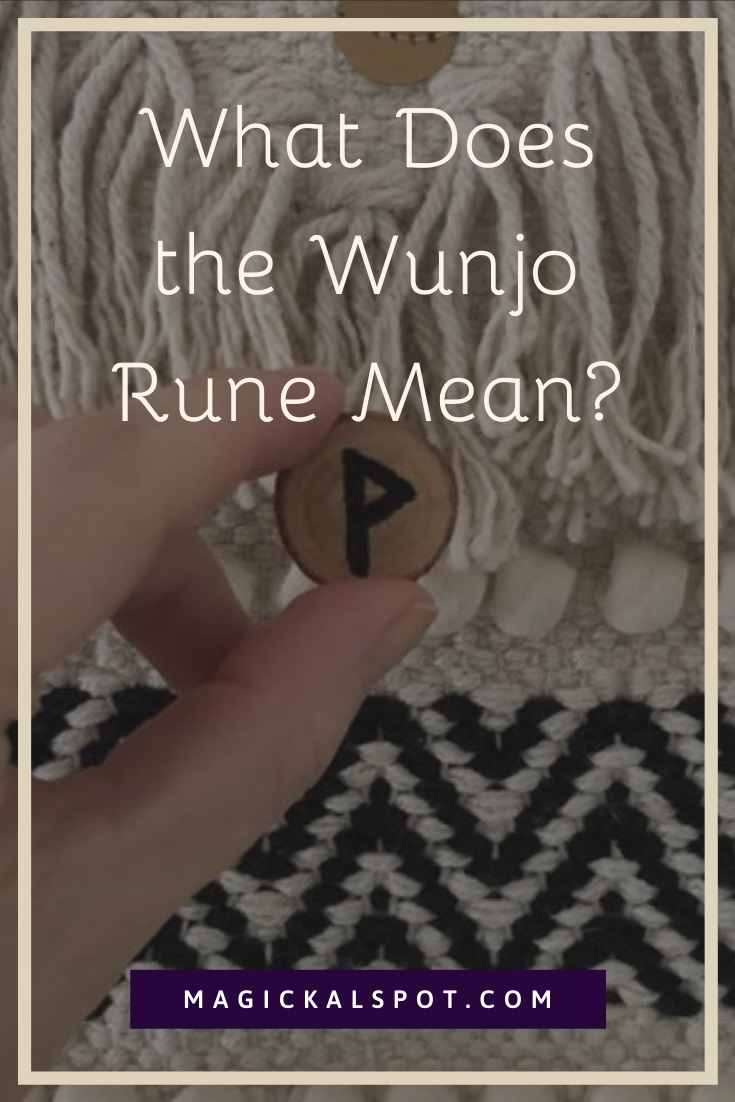What Does the Wunjo Rune Mean by MagickalSpot