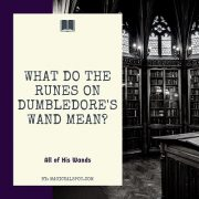 What do The Runes on Dumbledore Wand Mean featured