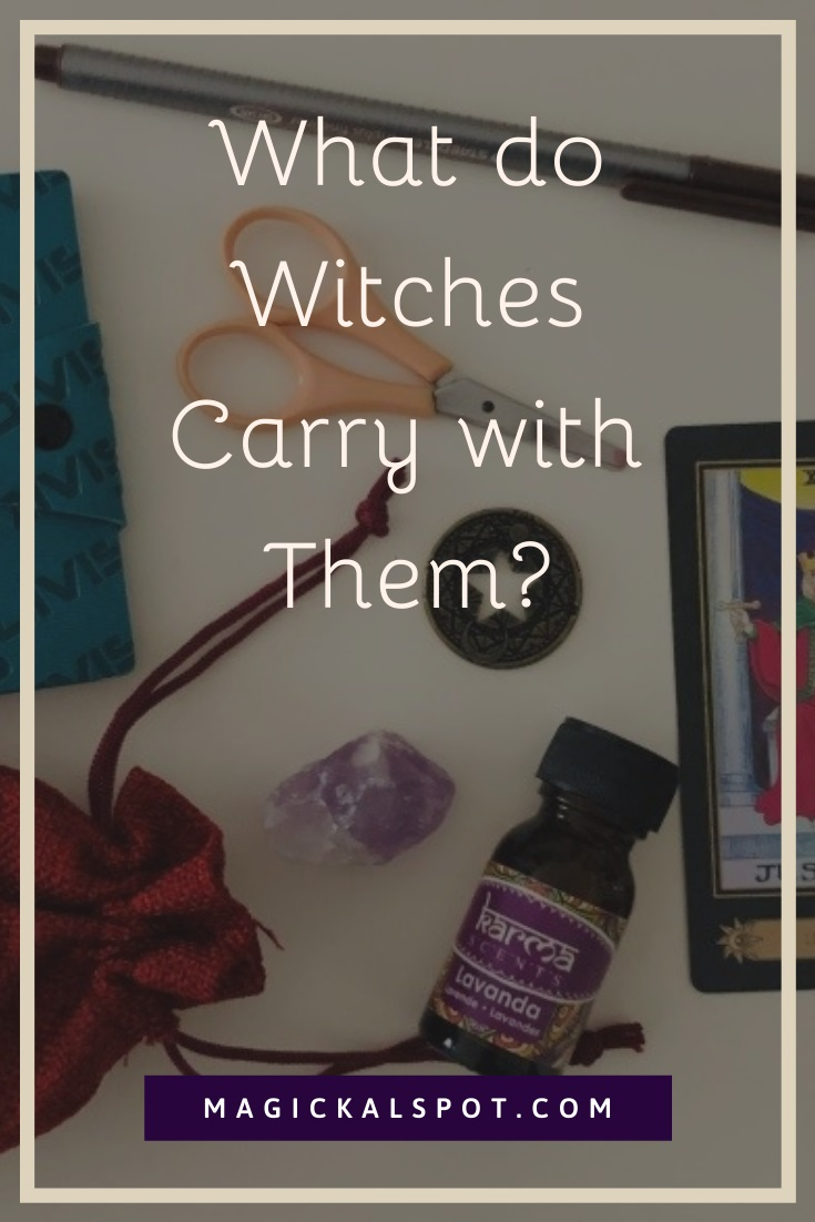 What do Witches Carry with Them by MagickalSpot