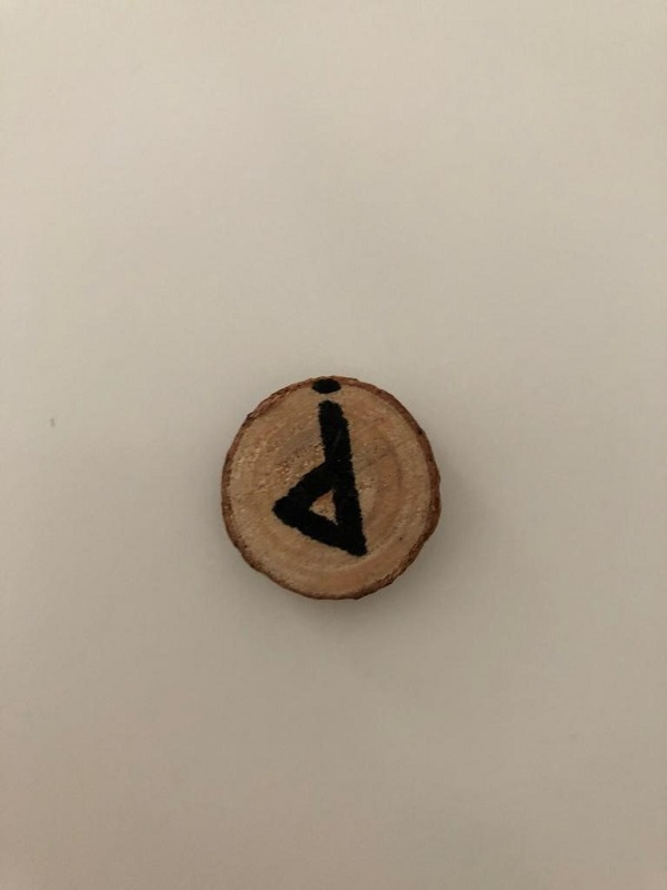 Wunjo rune reversed by MagickalSpot