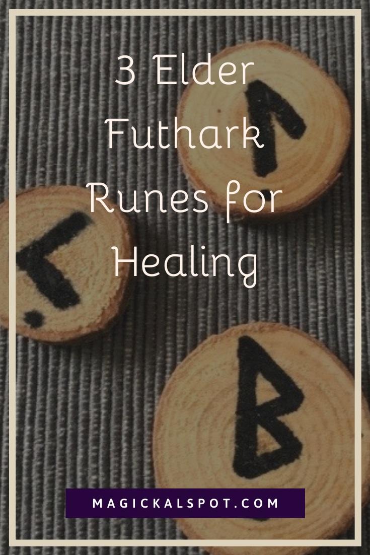 3 Elder Futhark Runes for Healing by MagickalSpot