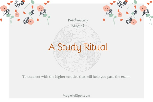 A Study Ritual by MagickalSpot