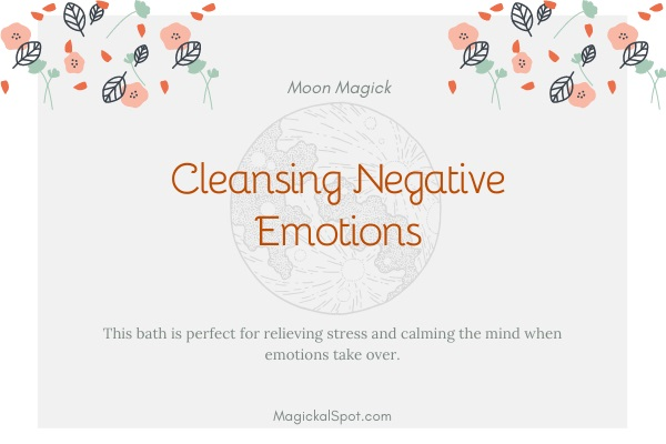 Cleansing Negative Emotions