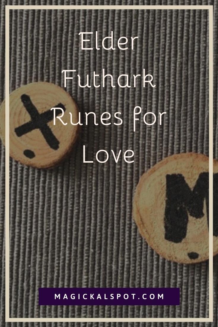 Elder Futhark Runes for Love by MagickalSpot