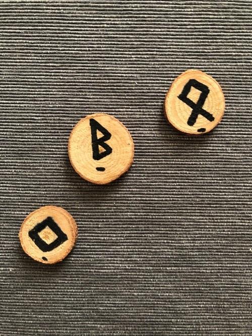 Elder Futhark Runes for family by MagickalSpot
