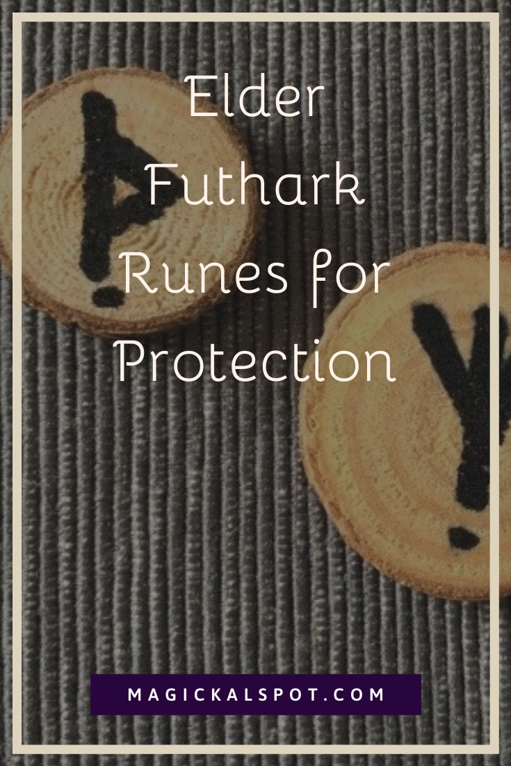 Elder Futhark runes for protection by MagickalSpot