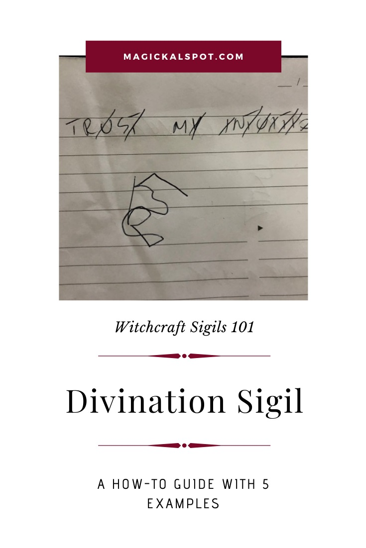 How to Make a Divination Sigil by MagickalSpot