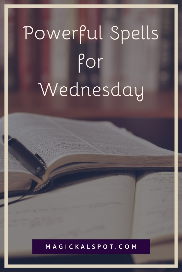 Powerful Spells for Wednesday by MagickalSpot