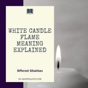 White Candle Flame Meaning featured