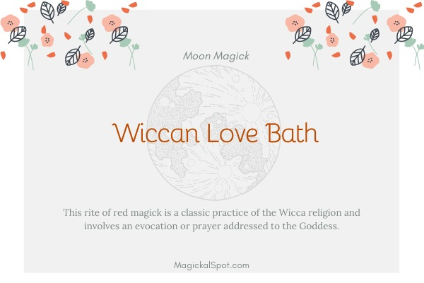 Wiccan Love Bath