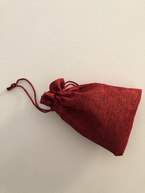 a linen bag for runes by MagickalSpot