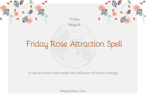 Friday Rose Attraction Spell by MagickalSpot