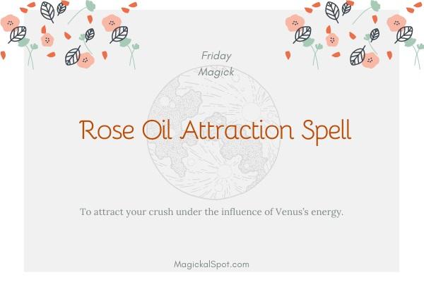 Rose Oil Attraction Spell by MagickalSpot