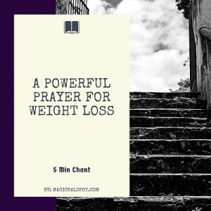 A Powerful Prayer for Weight Loss featured