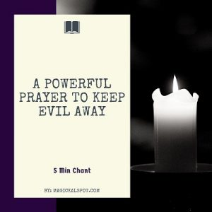 A Powerful Prayer to Keep Evil Away featured