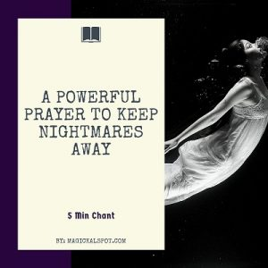 A Powerful Prayer to Keep Nightmares Away featured