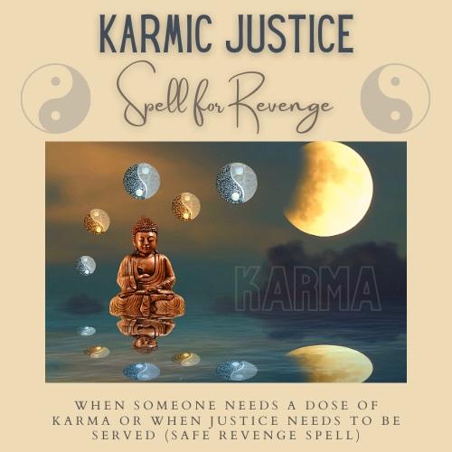 Karmic Justice Spell casting by Magickal Spot Tina Caro