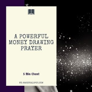 a Powerful Money Drawing Prayer featured