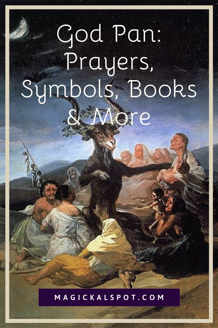 God Pan Prayers, Symbols, Books by Magickal Spot