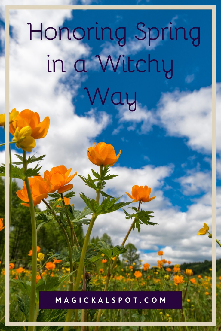 Honoring Spring in a Witchy Way by Magickal Spot