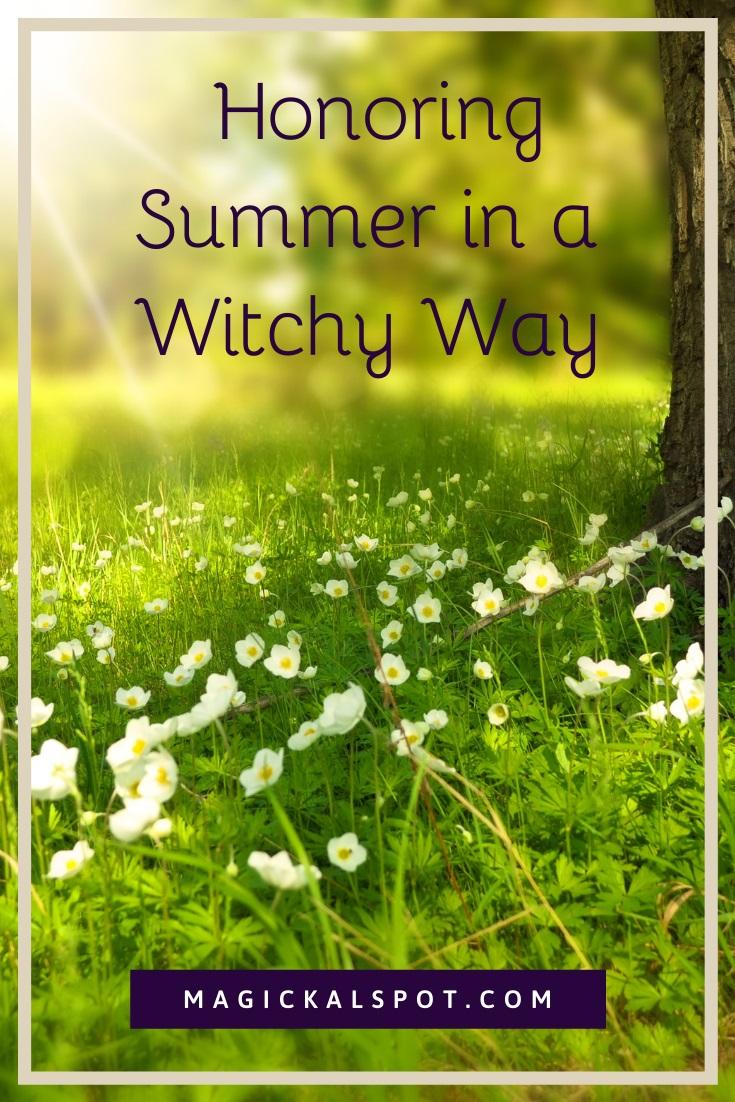 Honoring Summer by Magickal Spot
