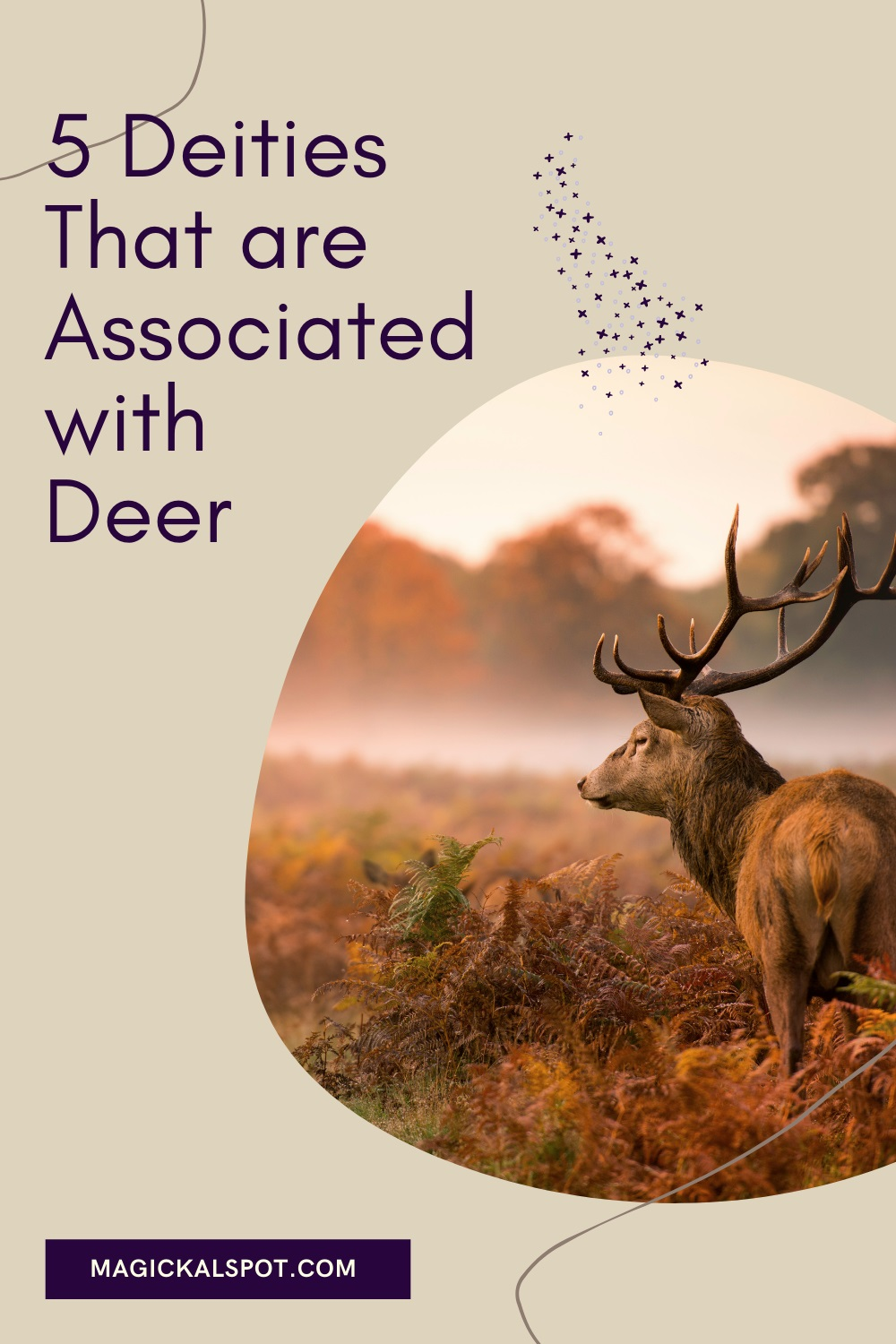 5 Deities That are Associated with Deer by Magickal Spot