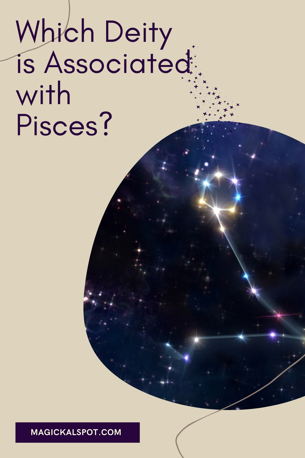 Which Deity is Associated with Pisces by Magickal Spot