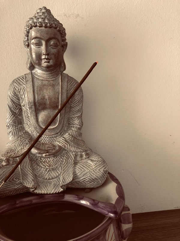 incense for good luck by Tina Caro