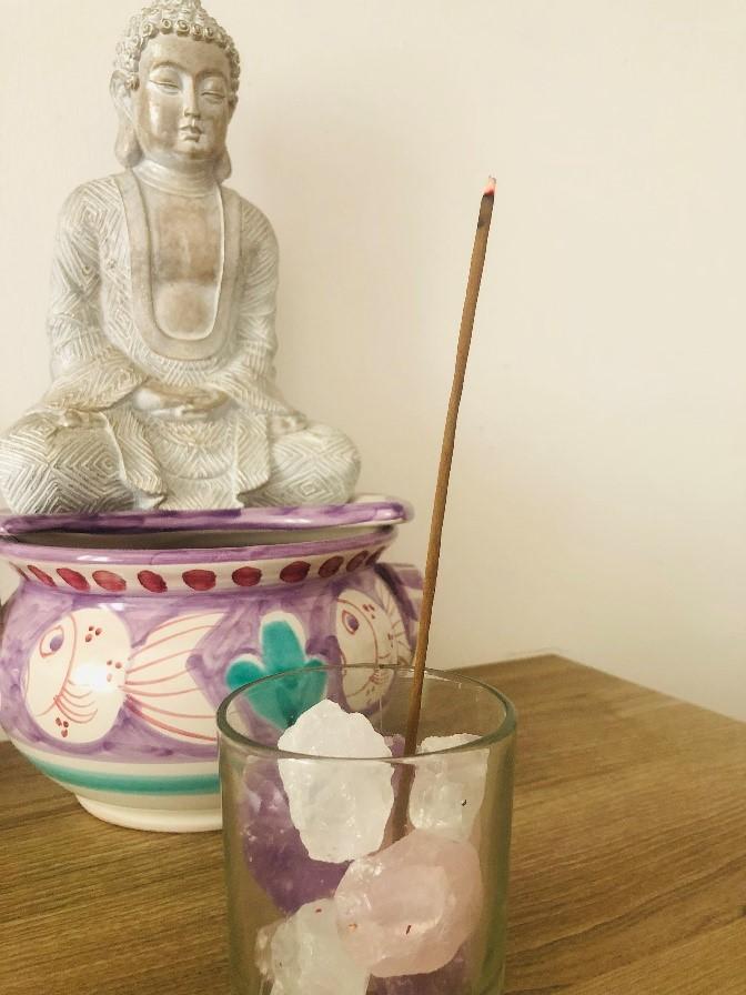 my incense burner by Tina Caro Magickal Spot